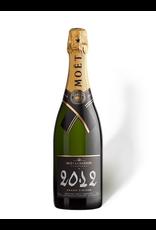 Sparkling Wine 2012, Moet & Chandon Grand Vintage BRUT, Champagne, Epernay, Champagne, France, 12.5% Alc, CTnr TW92