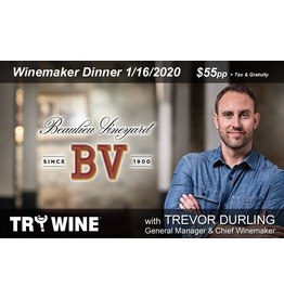 Special EVENTS BV Winemaker Dinner THU 1.16.20