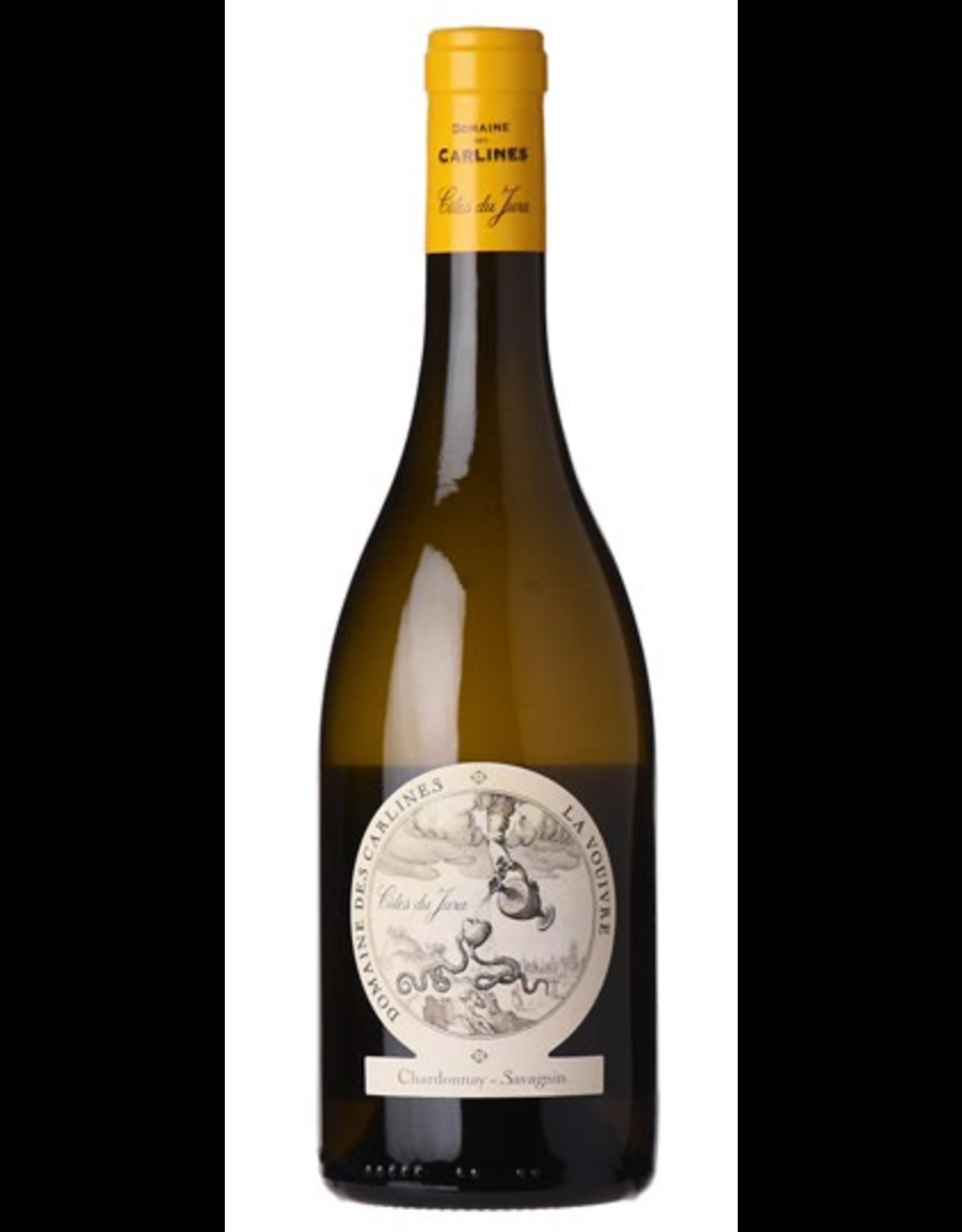 White Wine 2017, Domaine des Carlines La Vouivre, Chardonnay - Savagnin, Cotes du Jura, Jura, France, 14.4% Alc, CTnr, TW93