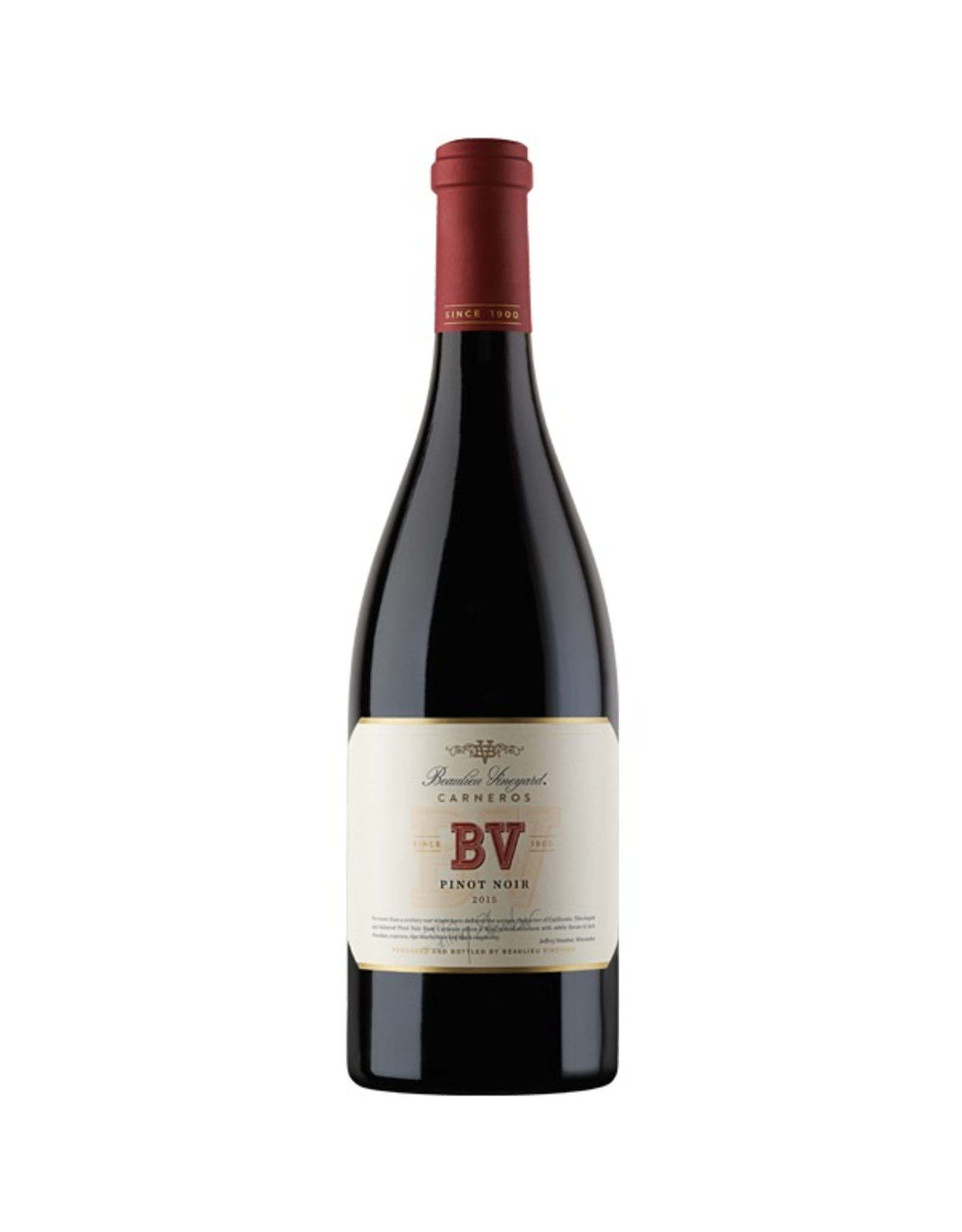 Red Wine 2016, BV Beaulieu Vineyards, Pinot Noir, Carneros, Napa Valley, California, 14.3% Alc, CTnr, TW92