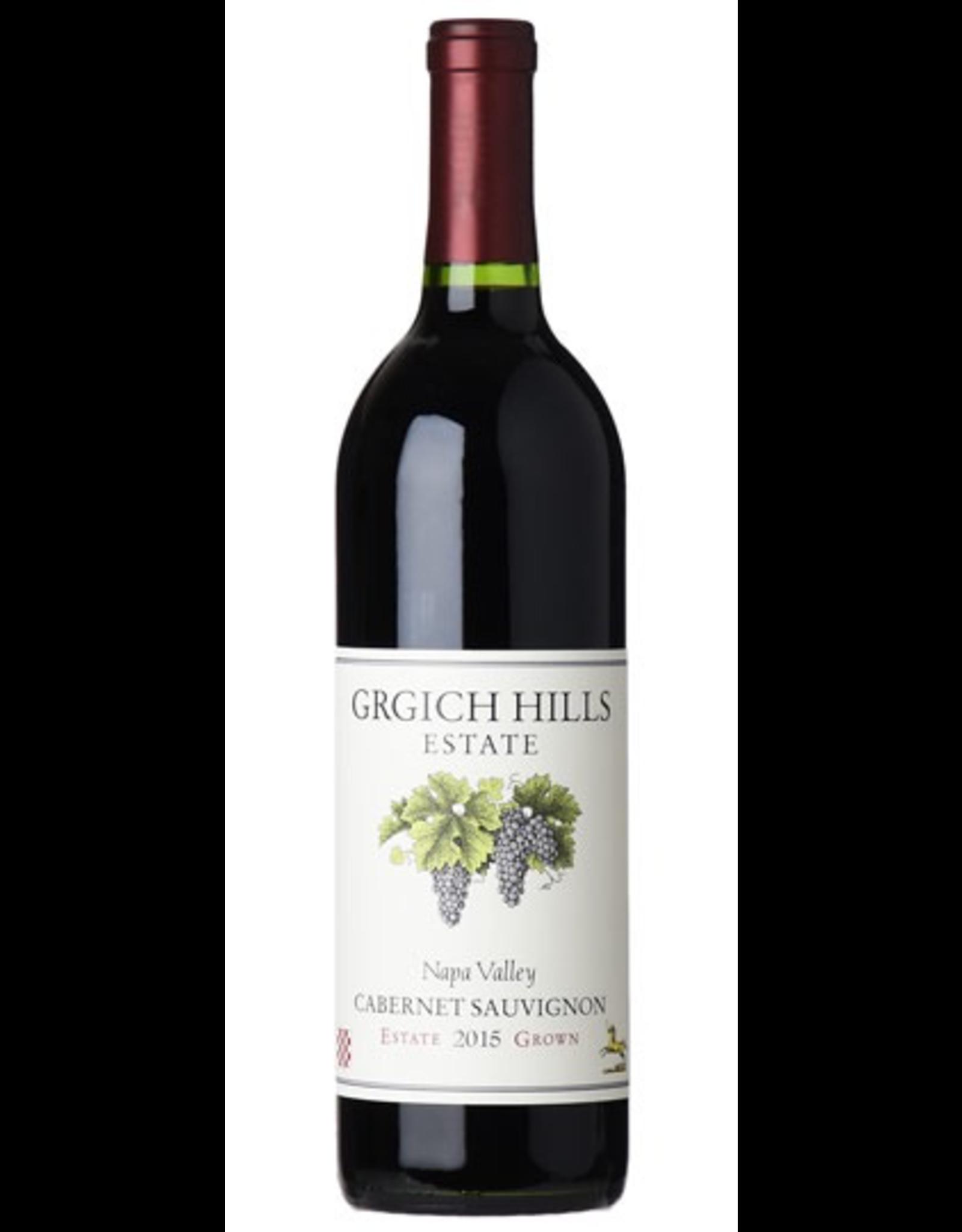 Red Wine 2015, Grgich Hills, Cabernet Sauvignon, Rutherford, Napa Valley, California, 14.8% Alc, CTnr