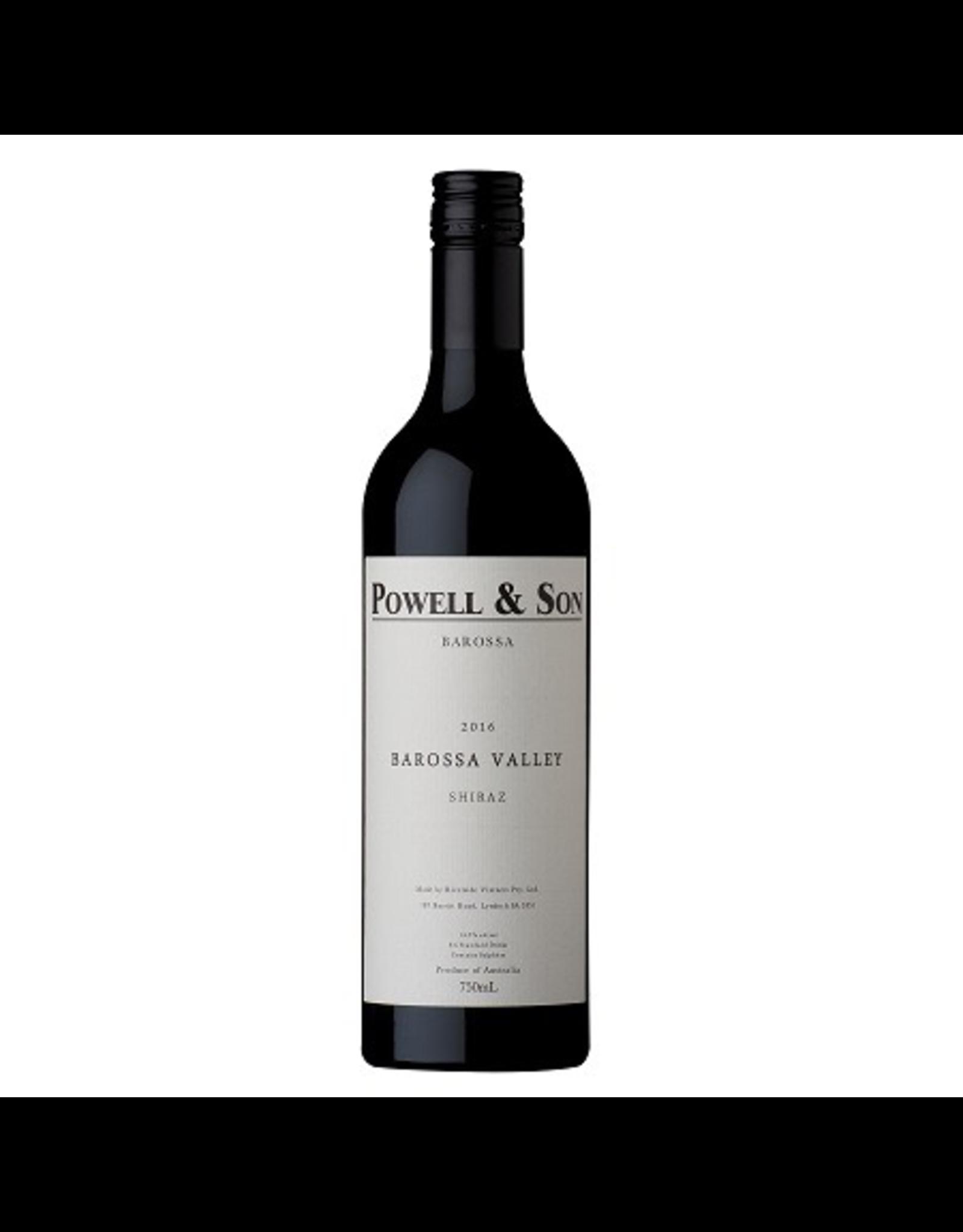 Red Wine 2016, Powell & Son, Shiraz, Barossa Valley, Barossa, Australia, 14.5% Alc, CTnr, TW93