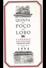 Red Wine 1994, Quinta Poco Lobo by Sao Joao, Cabernet Sauvignon, Vinho Regional Beiras, Beiras, Portugal, 13% Alc, CT90.9, TW94