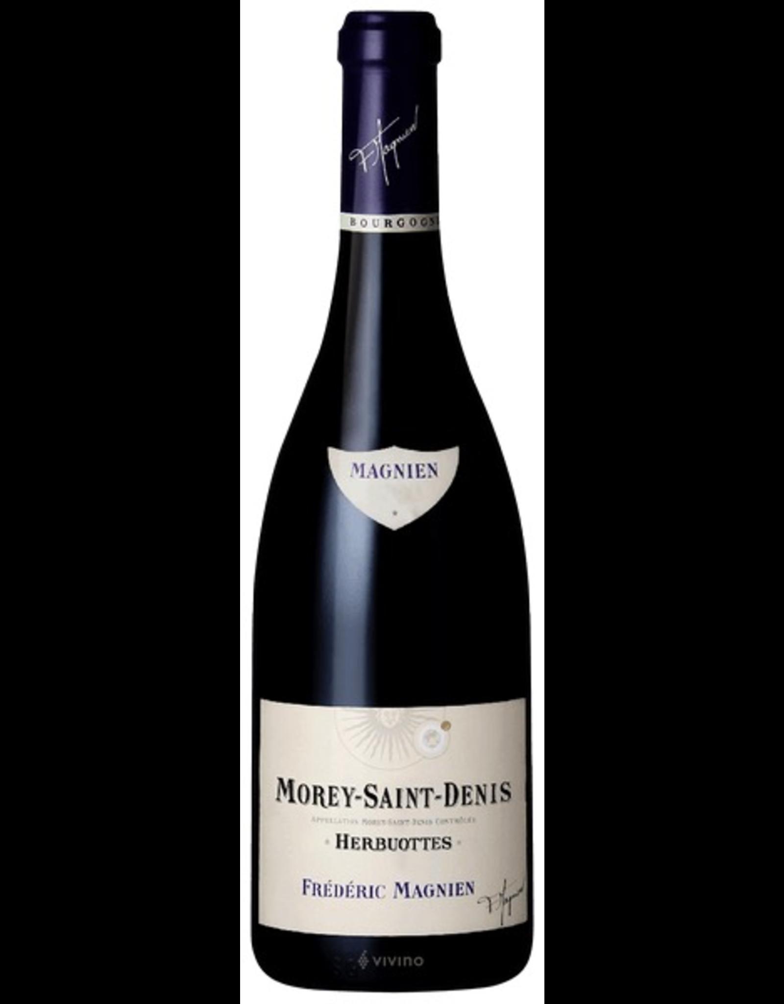 """Red Wine 2015, Frederic Magnien Herbuottes"""" Morey-Saint-Denis Grand Vin de Bourgogne, Pinot Noir, Cote de Nuits, Burgundy, France, 13% Alc, CT"""