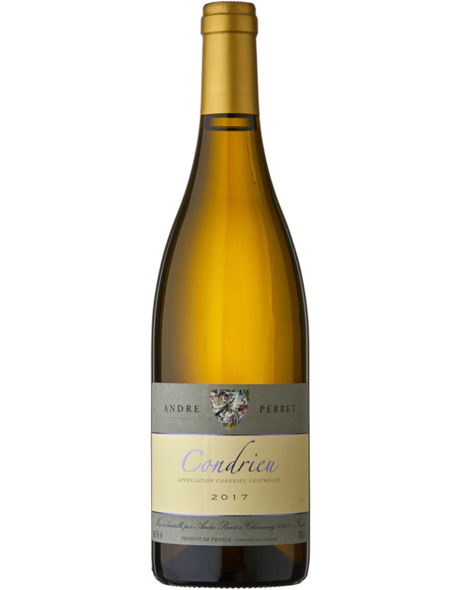 White Wine 2017, Andre Perret, Viognier, Condrieu, Northern Rhone, France, 15% Alc, CTnr, TW95
