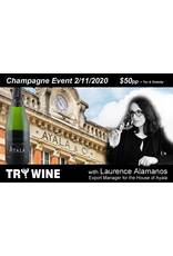 Special EVENTS AYALA Champagne Tasting & Appetizer Pairing Event 2.11.20, Fully Transferable but NON-REFUNDABLE.