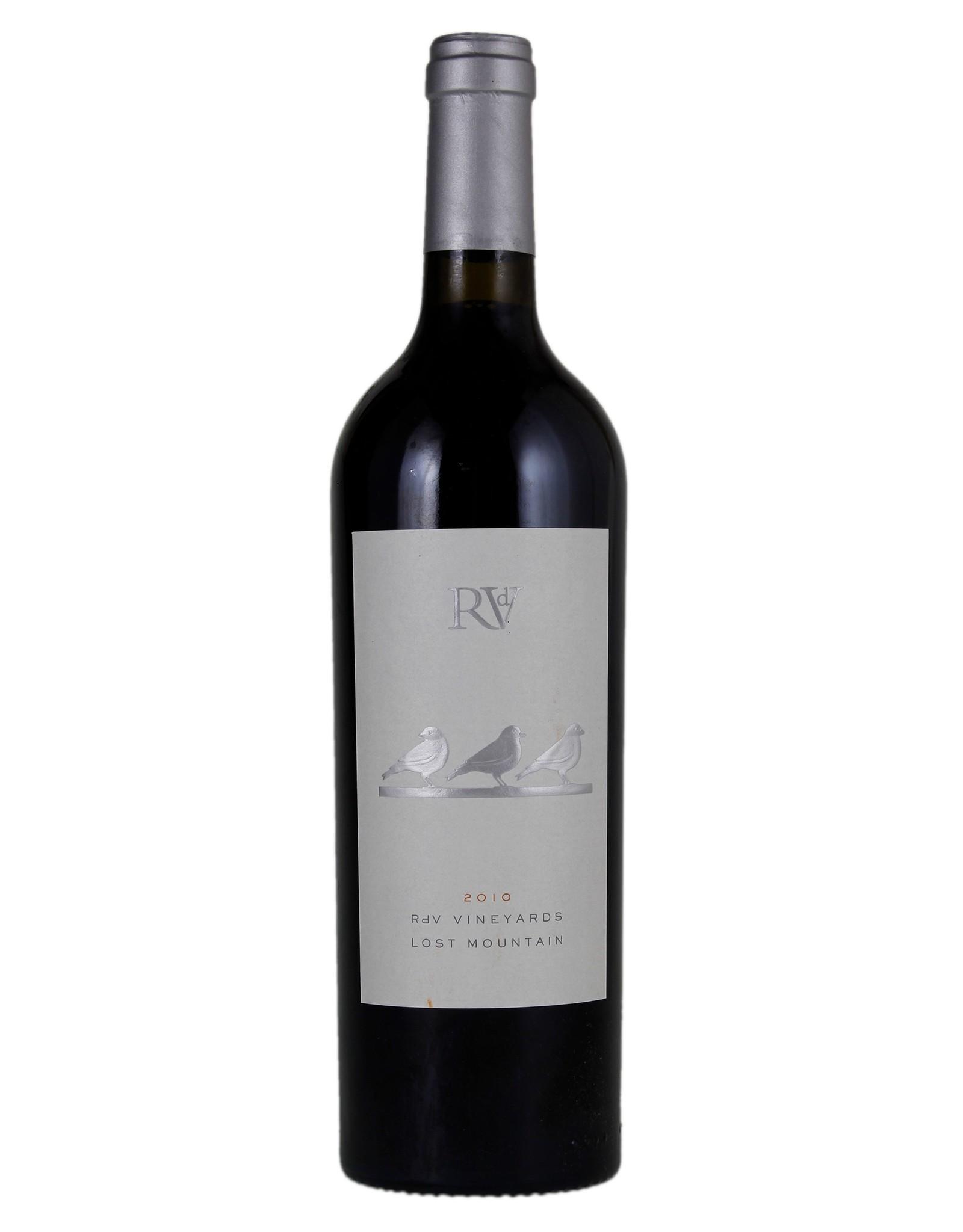 Red Wine 2012, RdV Estates, Cabernet Blend, Lost Mountain, Virginia, USA, 14.5% Alc, CT90, WS92