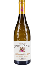 White Wine 2017, Chateau de Nalys Blanc Grand Vin, Chateauneuf-du-Pape, White Rhone Blend, Chateauneuf-du-Pape, Southern Rhone, France, 14% Alc, CT90.7, TW95
