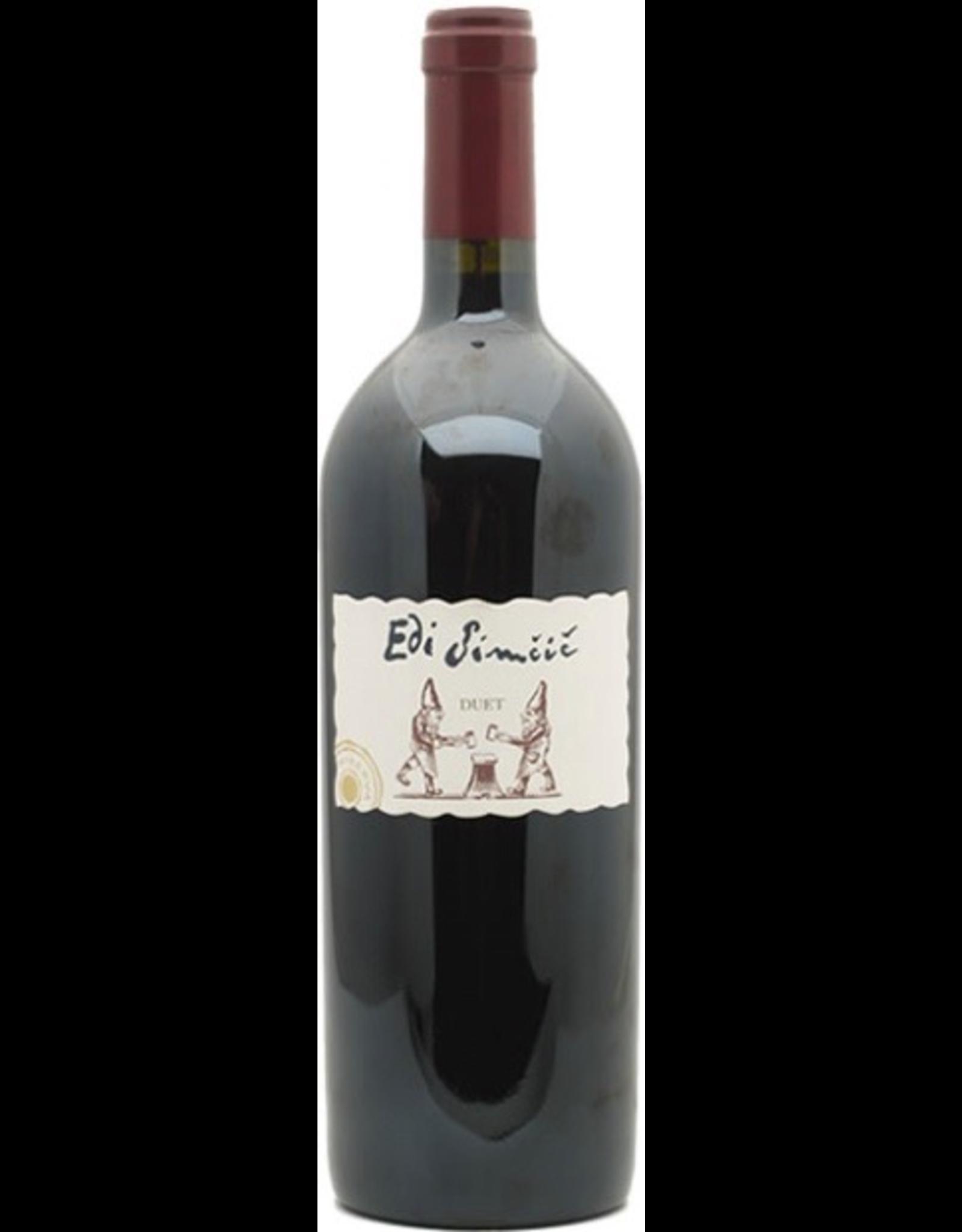 Red Wine 2016, Edi Simcic DUET, Red Bordeaux Blend, Goriska Brda, Slovenia, 13.5% Alc, CT89.7, WS91, TW91