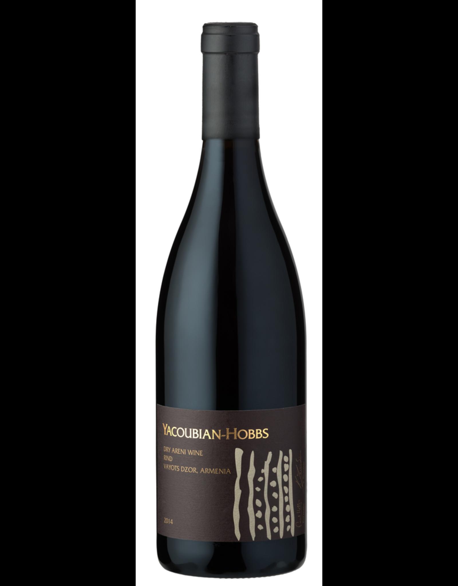 Red Wine 2015, Yacoubian & Paul Hobbs ARENI, Areni Noir, Rind, Vayots Dzor, Armenia, 14% Alc, CTnr, TW92