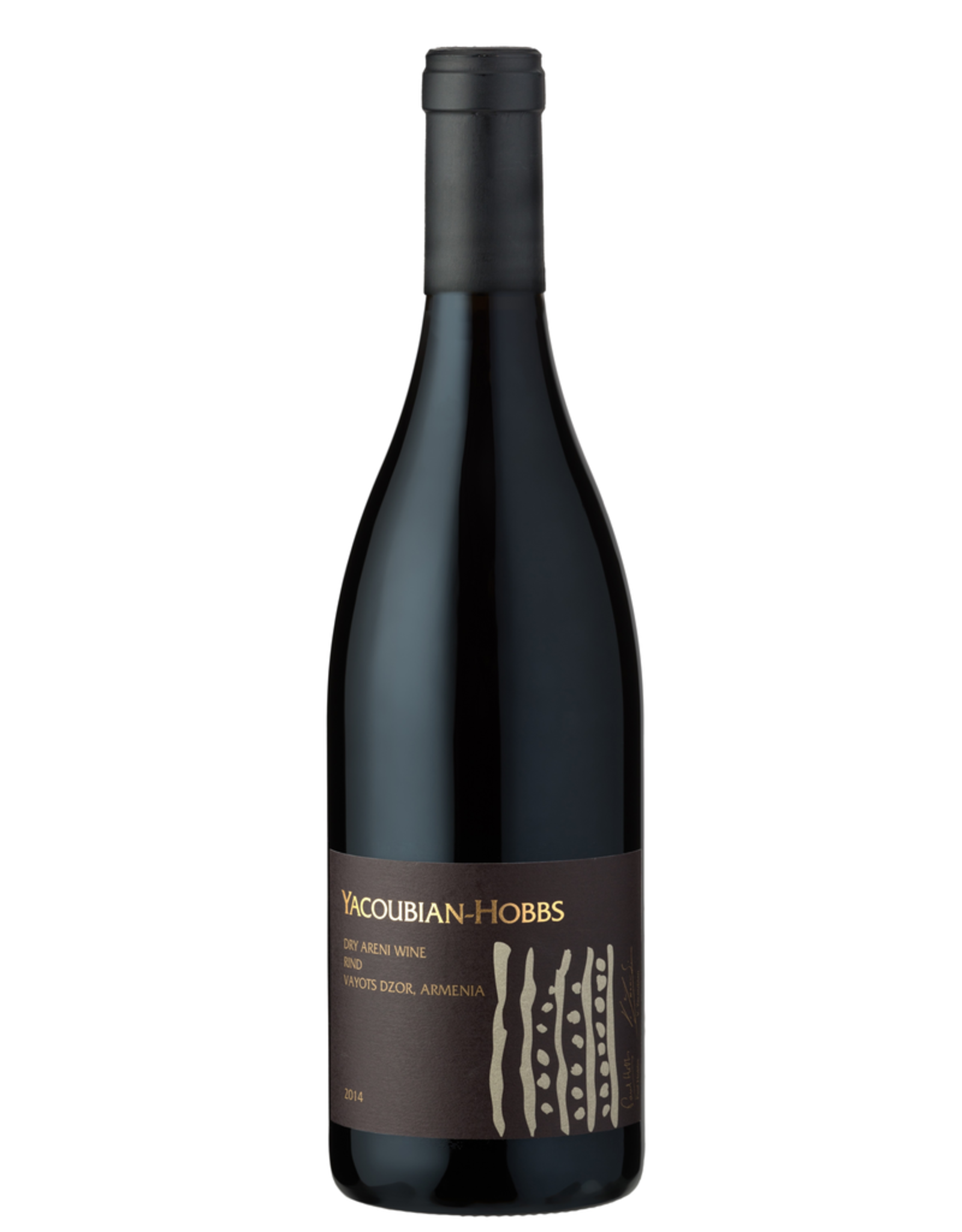 Red Wine 2016, Yacoubian & Paul Hobbs ARENI, Areni Noir, Rind, Vayots Dzor, Armenia, 14% Alc, CTnr, TW92
