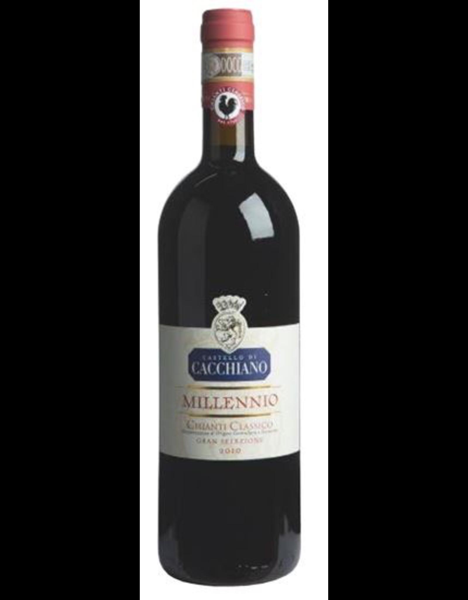 Red Wine 2010, Castello di Cacchiano Chianti Classico Selezione Millennio, Sangiovese, Chianti Classico DOCG, Tuscany, Italy, 14.5% Alc,