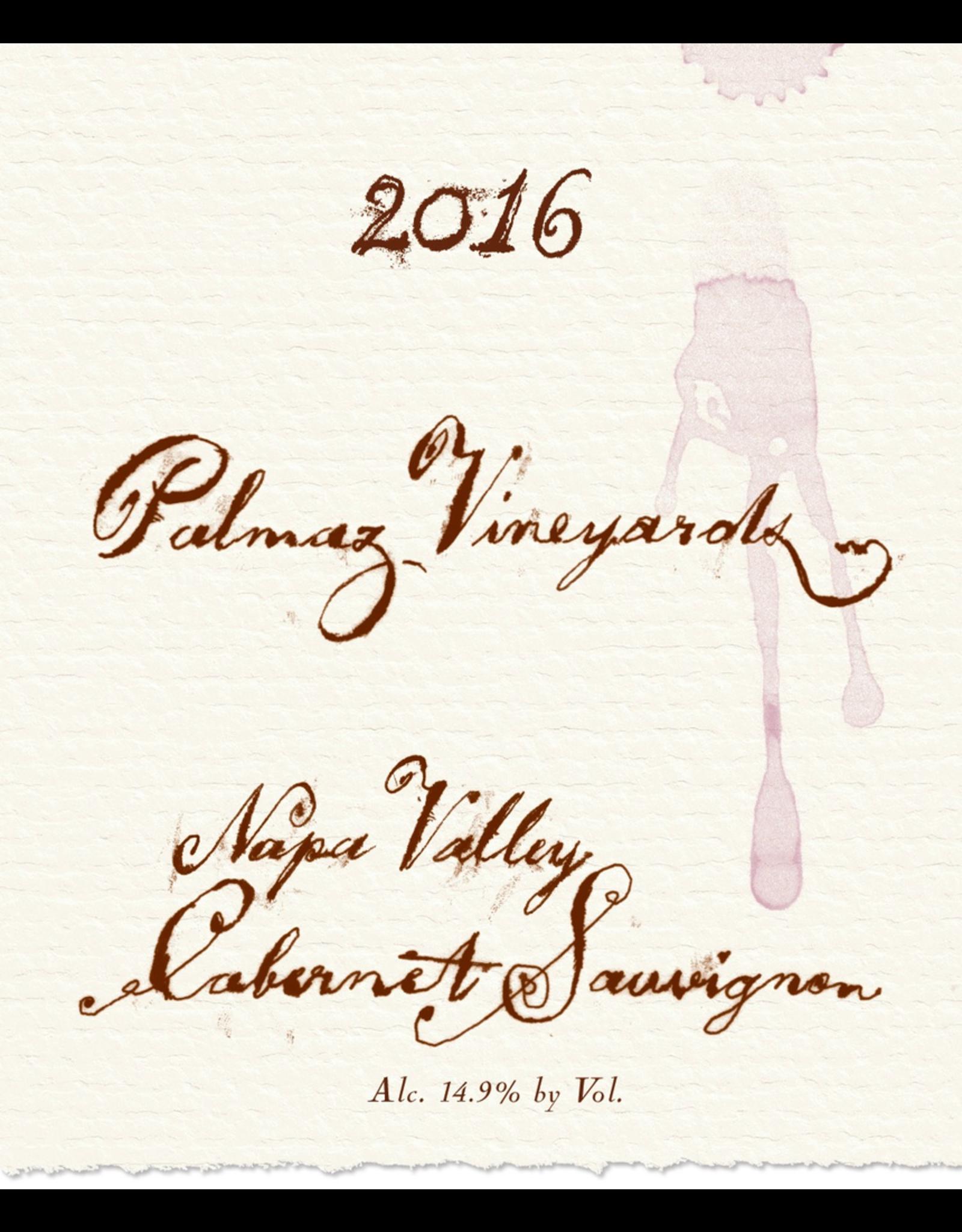 Red Wine 2016, Palmaz, Cabernet Sauvignon, Mt. George, Napa Valley, California, 14.5% Alc, CT