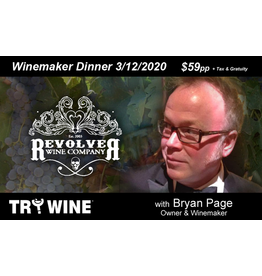 Special EVENTS REVOLVER Winemaker Dinner THU 3.12.20