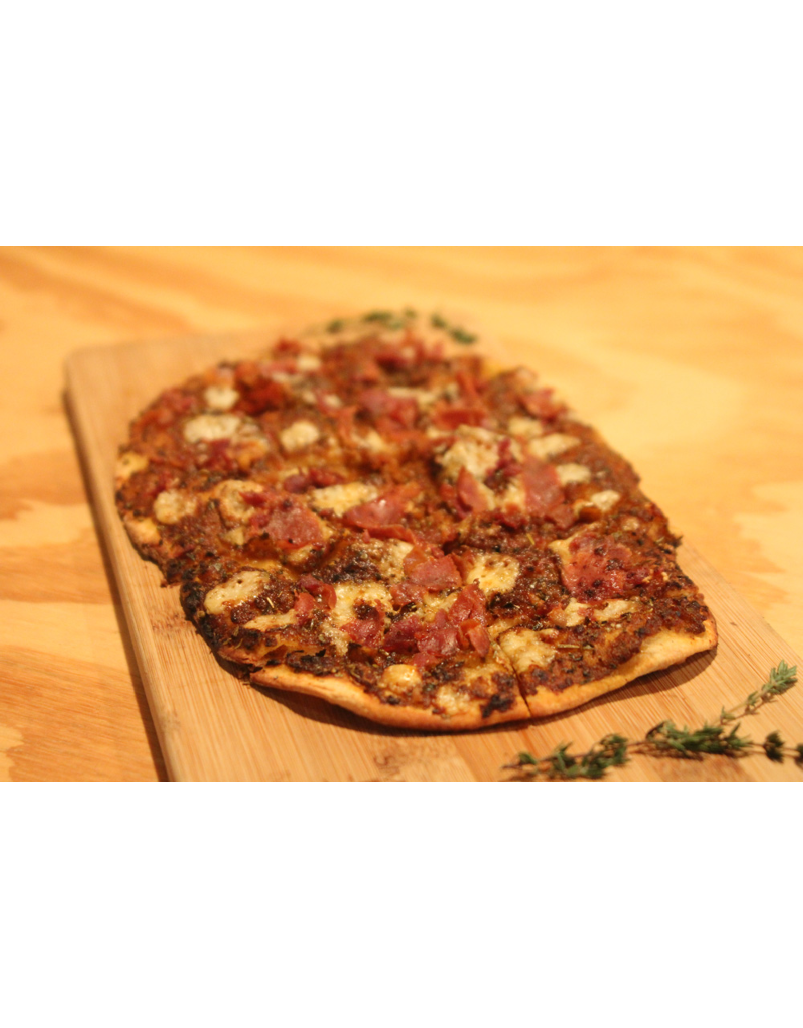 Wine Dining™ TO-GO TO-GO Reserve Tratufo Proscuitto Flatbread ~ Chefs Oven Fired Flatbread