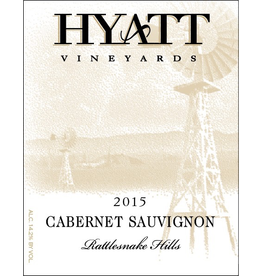 Red Wine 2015, Hyatt Vineyards, Cabernet Sauvignon