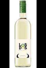 White Wine 2014, Los Dos, Muscat-Chardonnay Blend, Campo de Borja, Aragon, Spain, 13% Alc, TW89