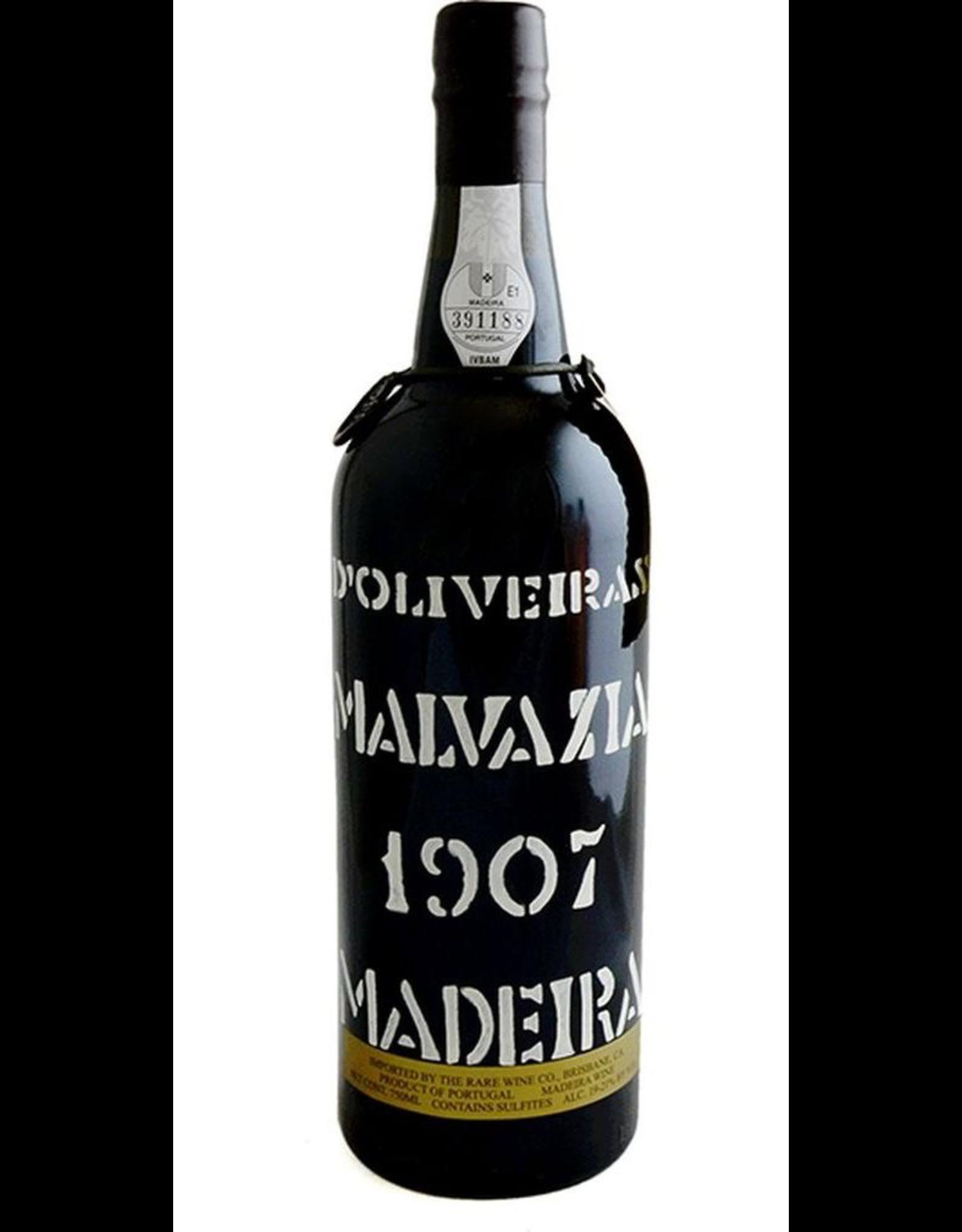 "Port 1907, ""Bottled in 2014"" D'Oliveira, Malvasia, Sta. Cruz, Madeira, Portugal, 21% Alc, CT95"