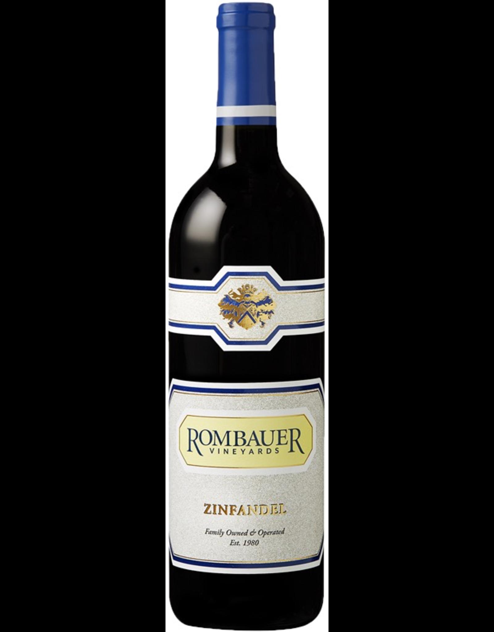 Red Wine 2018, Rombauer Vineyards, Zinfandel, Multi-regional Blend, Napa Valley, California, 15.9% Alc, CT89, RP90