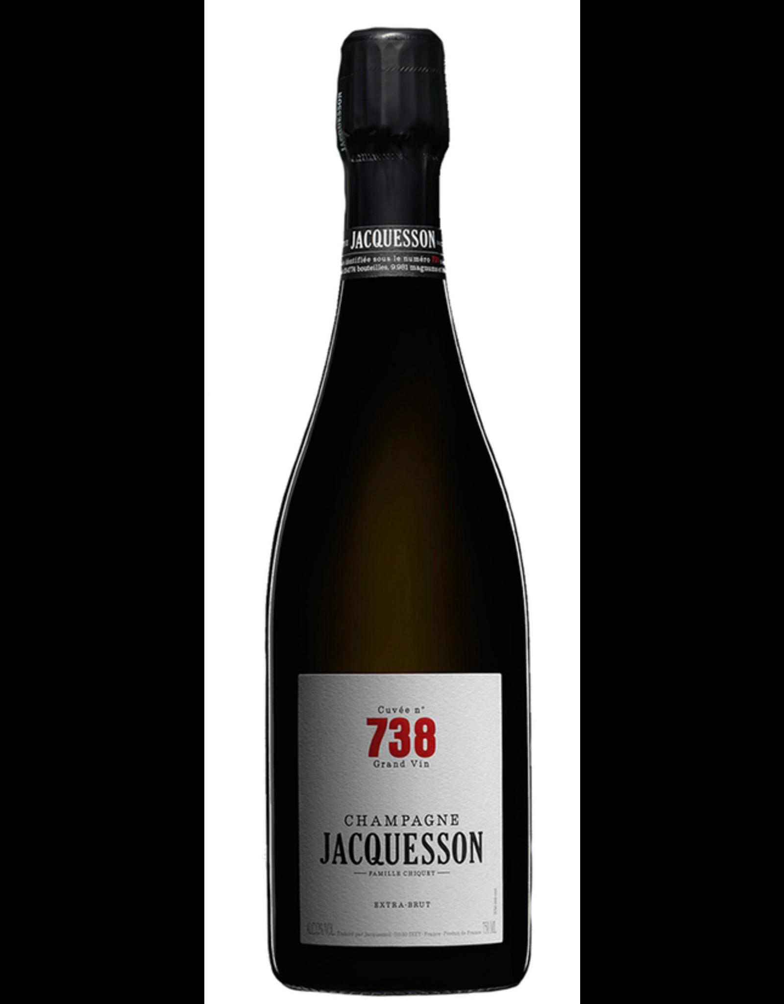 Sparkling Wine 2010, Jacquesson & Fils Champagne Cuvee No. 738 Extra Brut, Champagne Blend, Dizy, Champagne, France, 12% Alc, JS93