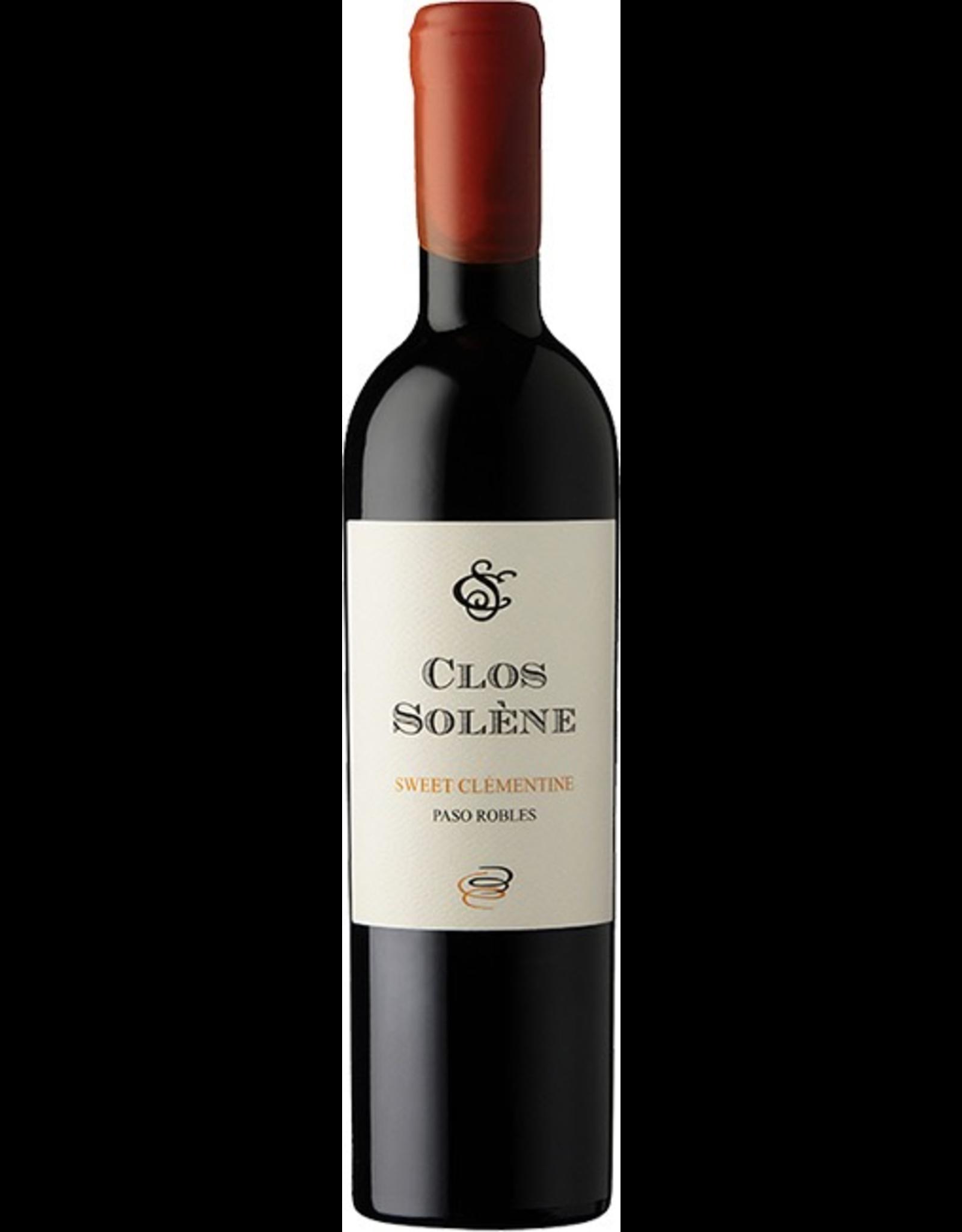 Desert Wine 2015, 375ml Clos Solene Sweet Clementine Desert Wine, Red Rhone Blend, Paso Robles, Central Coast, California, 15.8% Alc, CT88