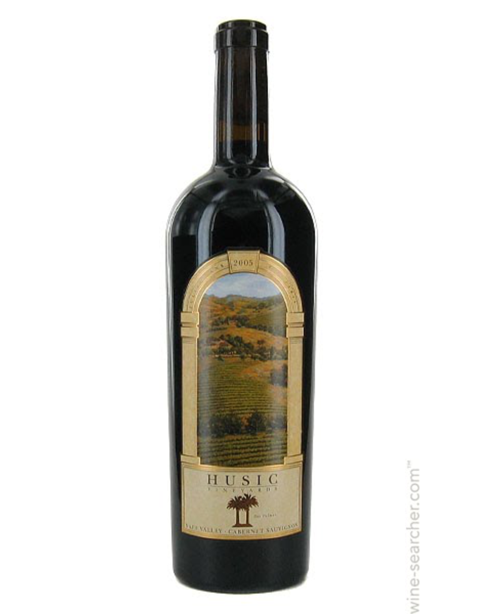 Red Wine 2008, Husic Vineyards, Cabernet Sauvignon, Dos Palmas Vineyard, Napa Valley, California, 15% Alc, CT91