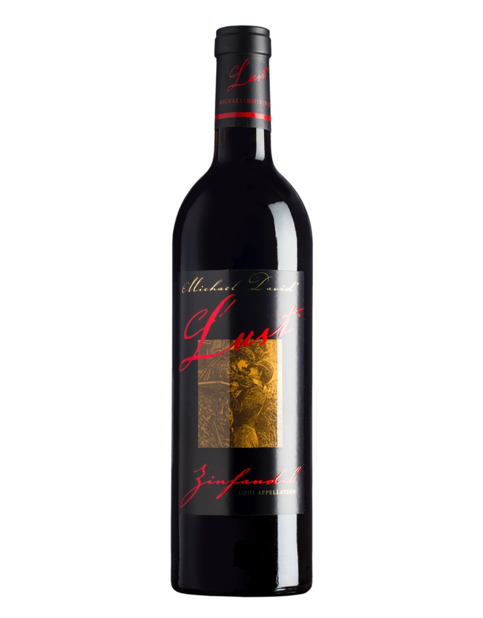 Red Wine 2016, Michael David Winery Lust, Zinfandel, Lodi, California, USA, 15.5% Alc, CTnr