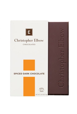 Chocolates Christopher Elbow, Dark Spice, Chocolate Bar, 2.65oz