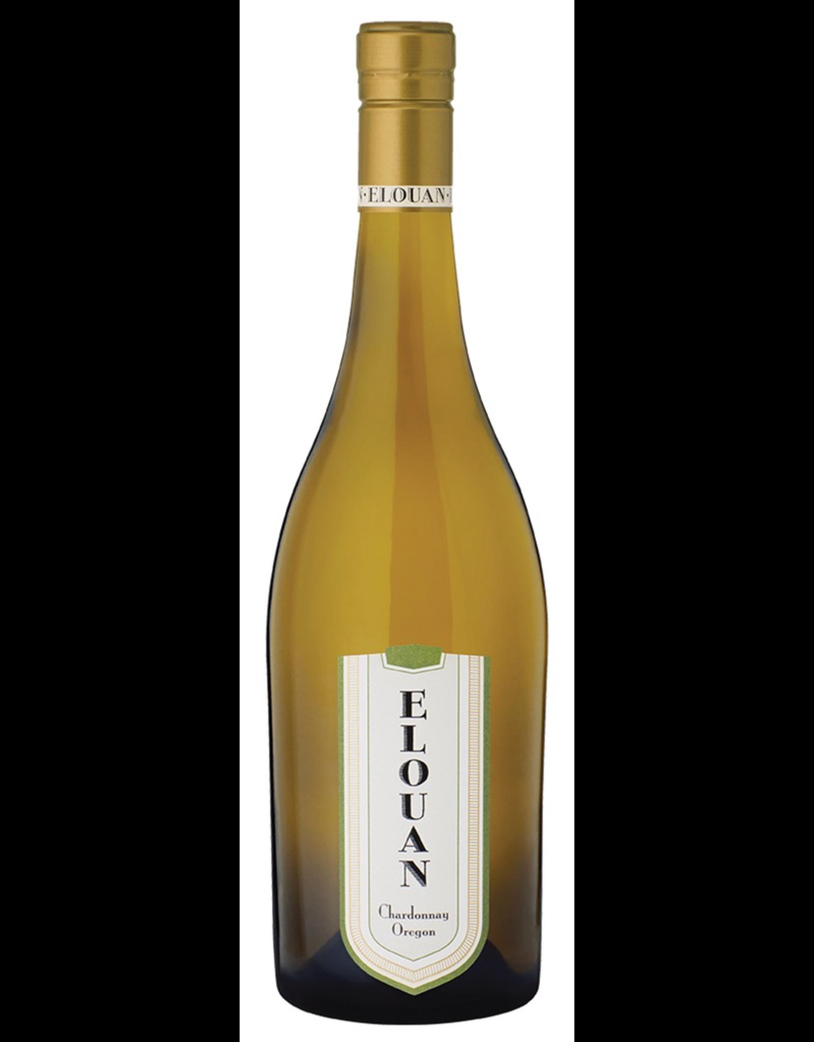 White Wine 2017, Elouan, Chardonnay, Multi AVA, Oregon, 14.5% Alc, CT na