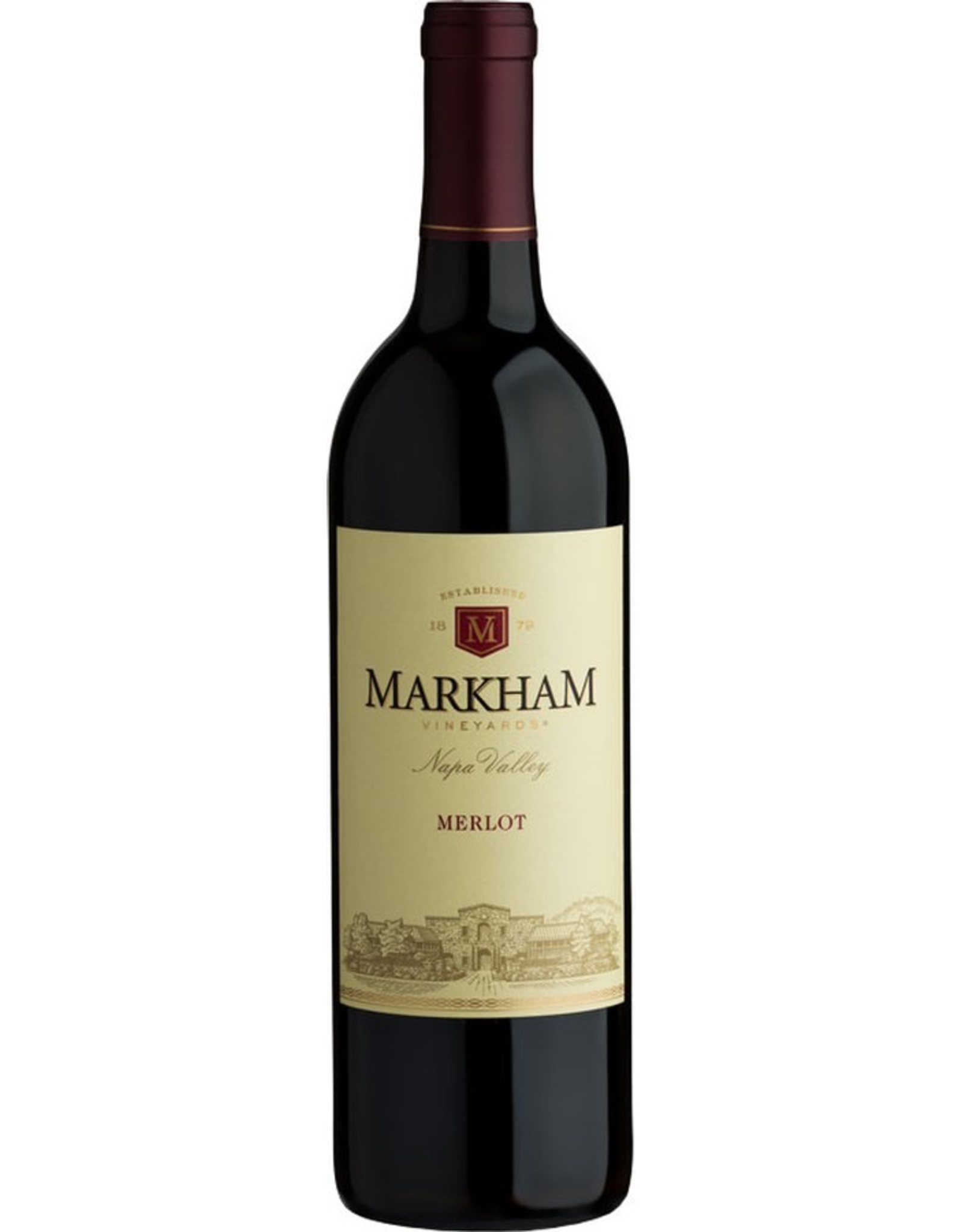 Red Wine 2017 Markham Vineyards, Merlot, Napa, Napa Valley, California, 14.2% Alc, CTnr