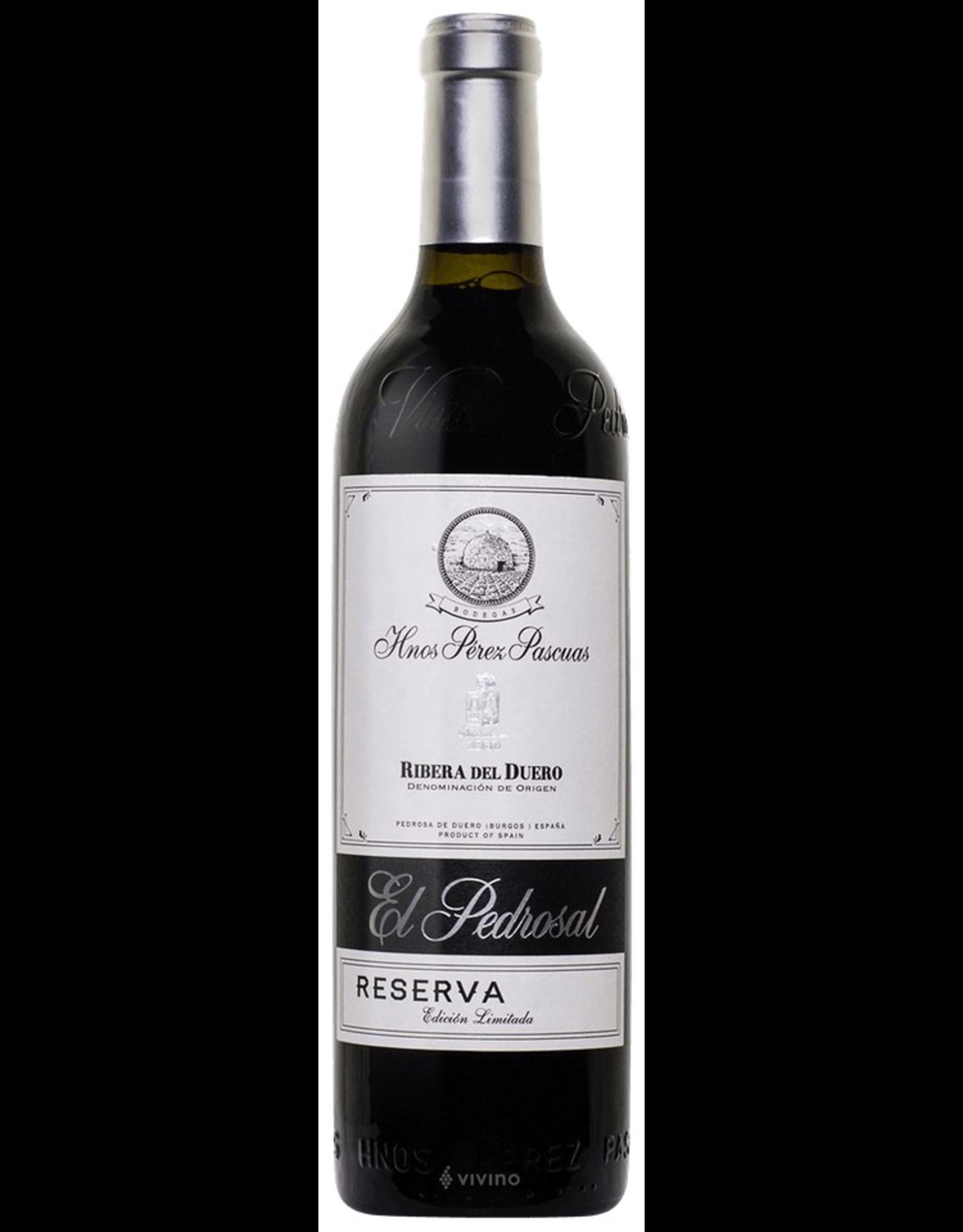 Red Wine 2005, Bodegas Hnos Perez Pascuas Reserva Vina Pedrosa, Tempranillo, Ribera Del Duero, Castilla y Leon, Spain, 13.5% Alc, CT90, RP95