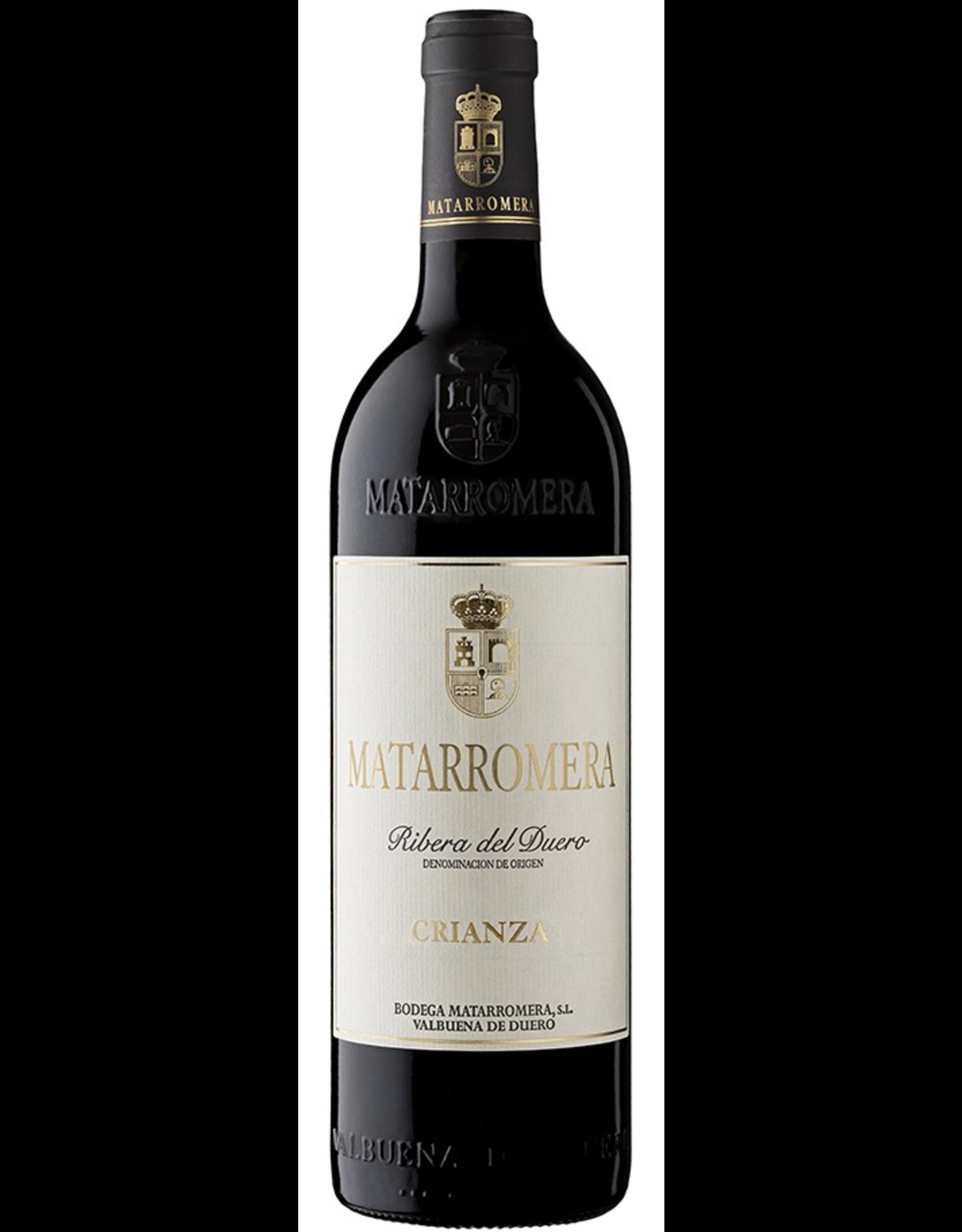 Red Wine 2015, Matarromera Crianza, Tempranillo, Rrbera Del Duero, Castilla y Leon, Spain, 13% Alc, CTnr, TW94