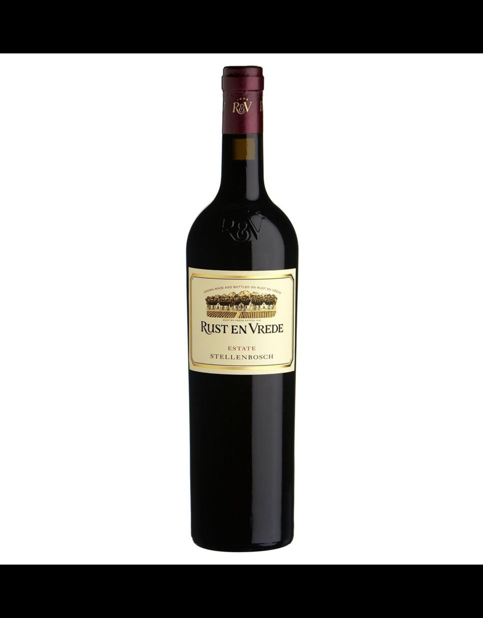 Red Wine 2012, Rust En Vrede, Merlot, Stellenboch, Coastal Region, South Africa, 14.5% Alc, CT85