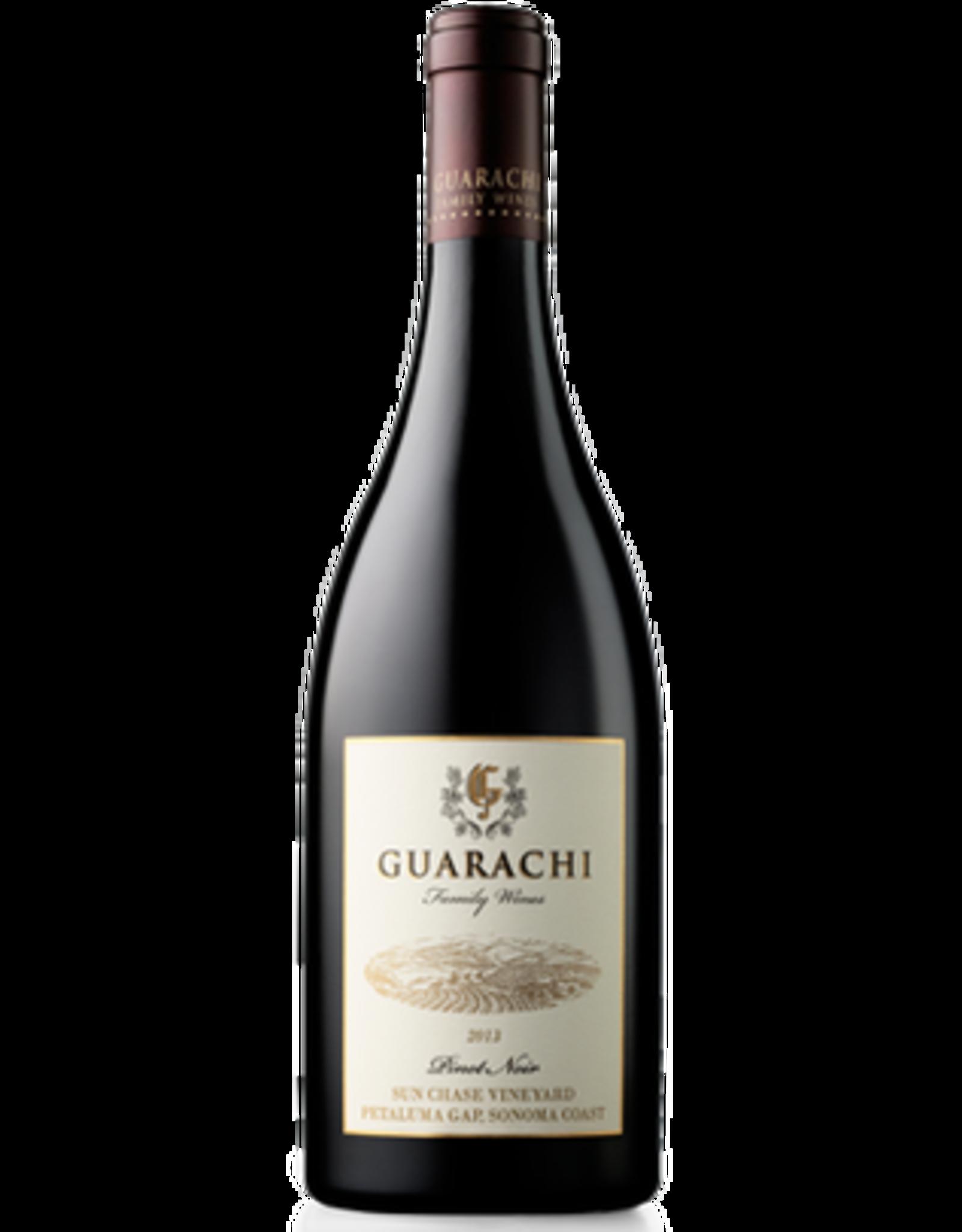 Red Wine 2013, Guarachi Sun Chase Single Vineyard, Pinot Noir, Sonoma Coast, Sonoma County, California, 14.5% Alc, CT92, TW94