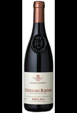Red Wine 2018, Delas Saint-Esprit, Grenache/Syrah Blend, Cotes du Rhone, Southern Rhone, France, 14% Alc, CTnr