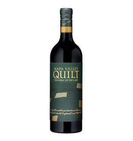 Red Wine 2018, Quilt, Red Blend