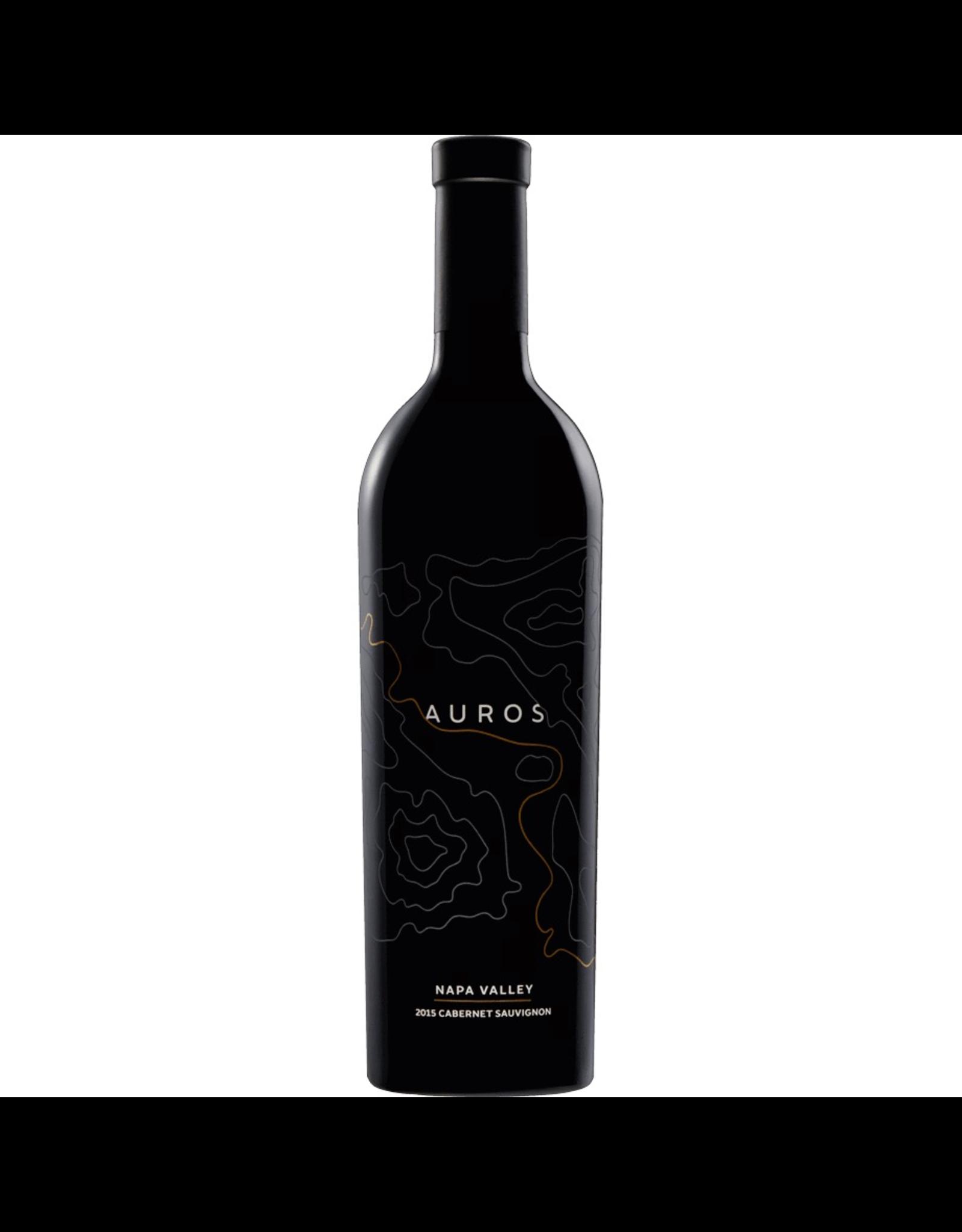 Red Wine 2016, Auros, Cabernet Sauvignon, Multi AVA, Napa Valley, Californiam 15.1% Alc, CT 91
