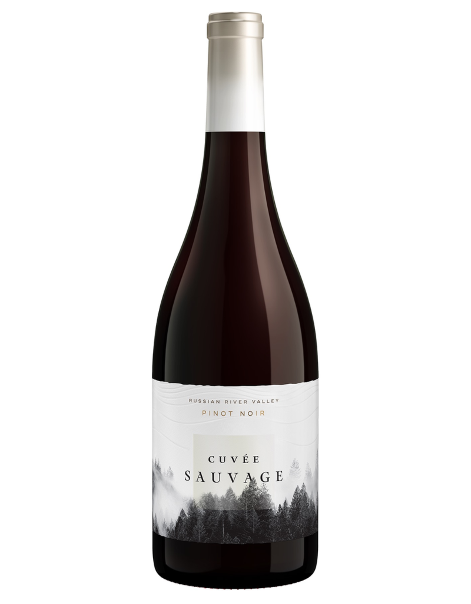 Red Wine 2017, Cuvee Sauvage, Pinot Noir, Russian River, Sonoma County, California, 14.5% Alc, CT 90