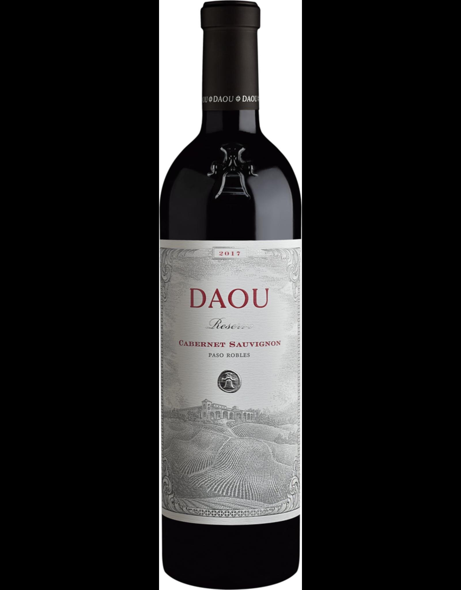 Red Wine 2017, DAOU Vineyards Reserve, Cabernet Sauvignon, Paso Robles, Central Coast, California, 14.8% Alc, CT 89.3