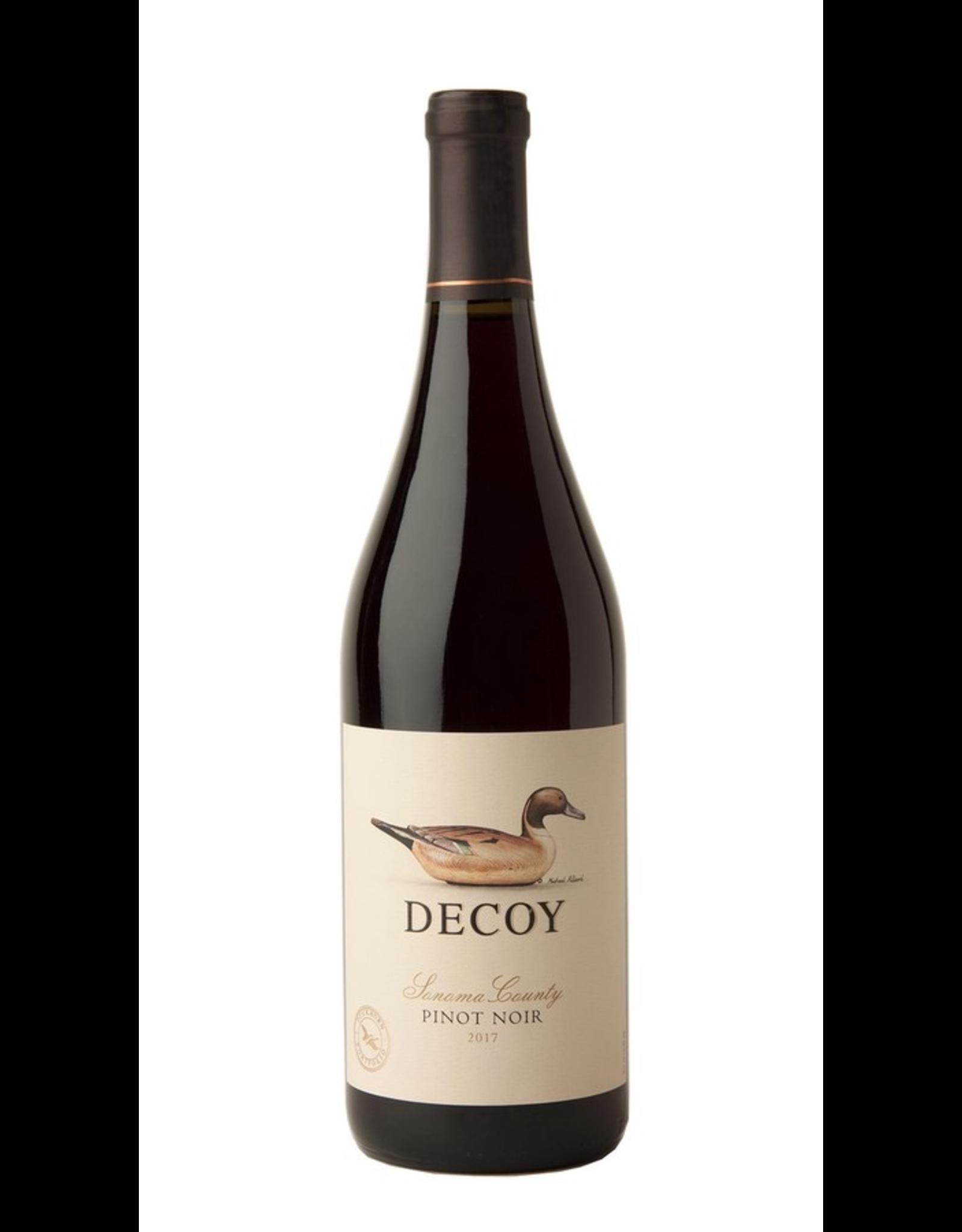Red Wine 2018, Duckhorn Vineyards, Decoy, Pinot Noir, Sonoma County, California, USA, 14.1% Alc, CT89.5, TW89