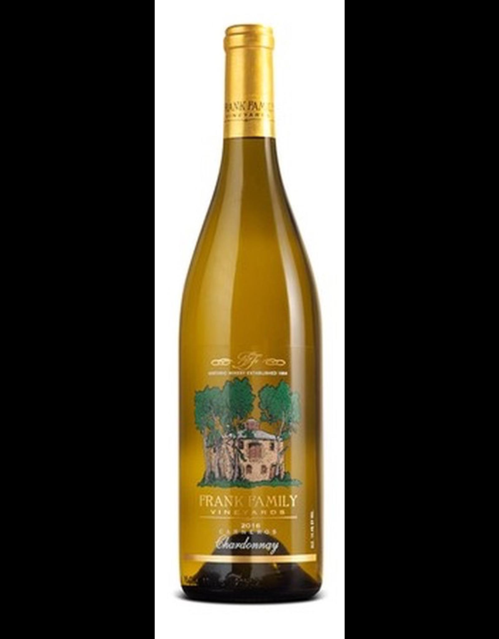 White Wine 2018, Frank Family Vineyards, Chardonnay, Carneros, Napa/ Sonoma Counties, California, 14.4% Alc, CTnr, TW90