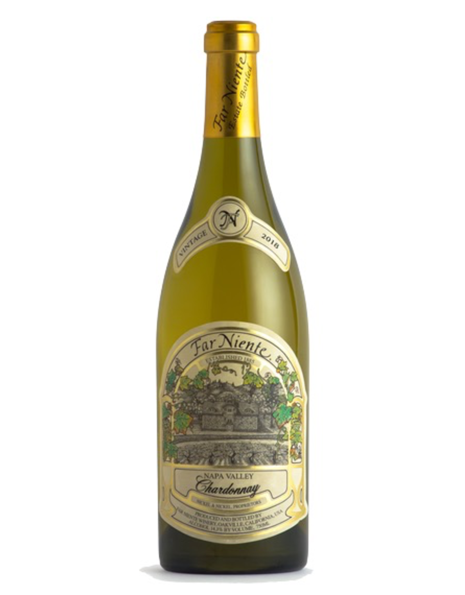 White Wine 2018, Far Niente, Chardonnay, Oakville, Napa Valley, California,  14.3% Alc, CT91
