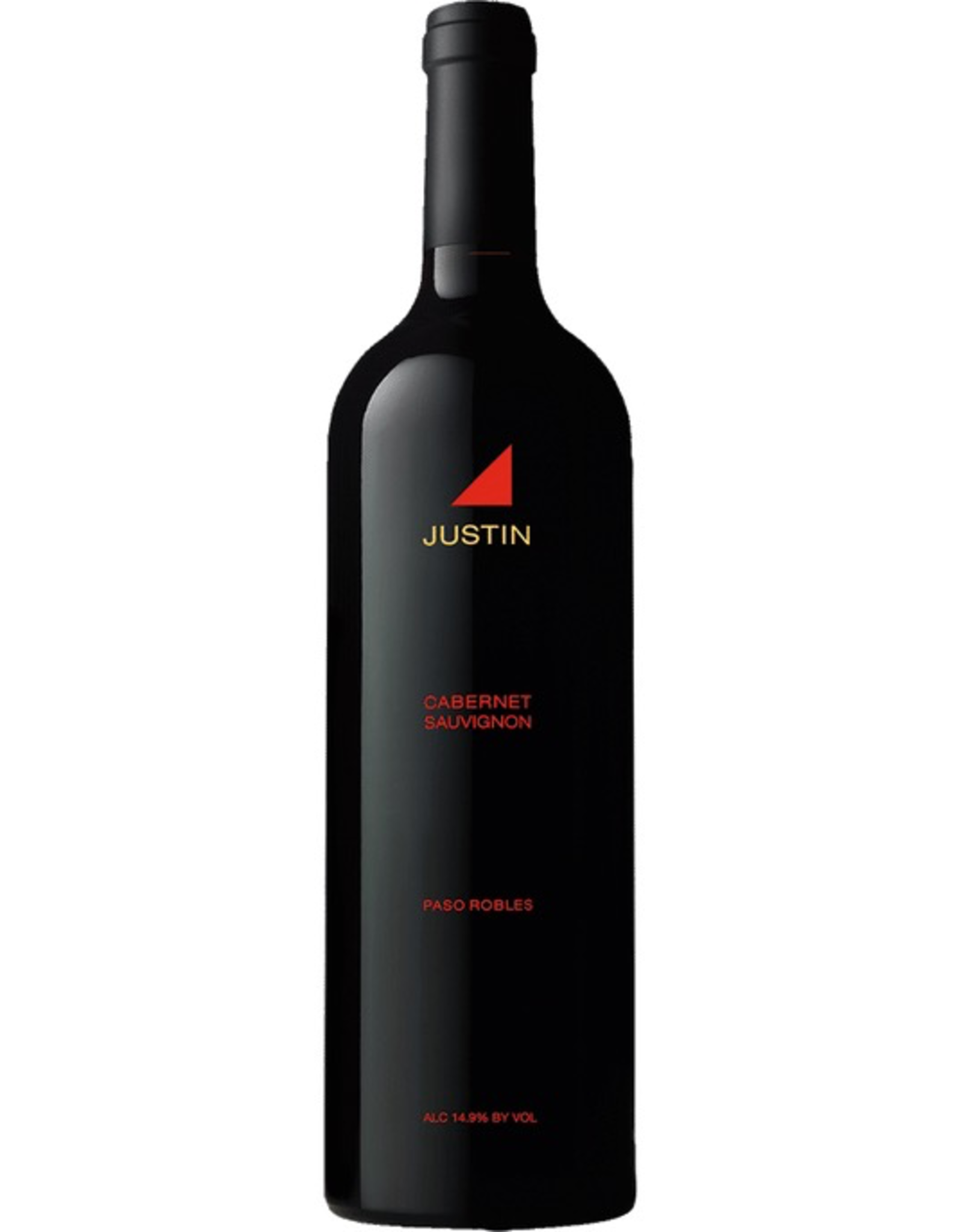 Red Wine 2018, Justin Vineyards, Cabernet Sauvignon, Paso Robles, Central Coast, California, 14.5% Alc, CT 88.2
