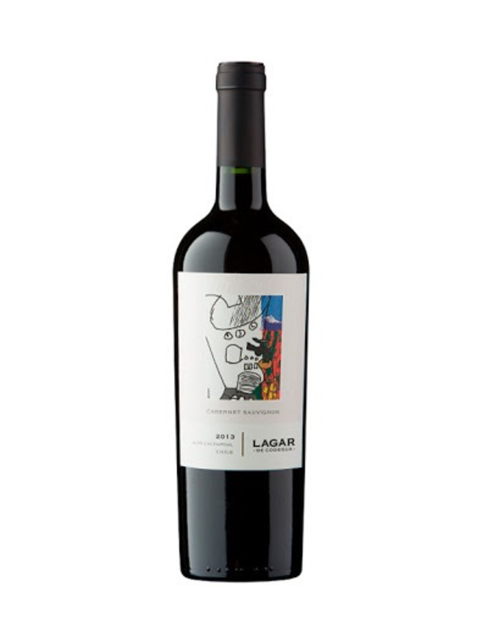 Red Wine 2013, LAGAR De Bezana, Cabernet Sauvignon, Cachapoal Valley, Rapel Valley, Chile, 13.9% Alc, CTnr