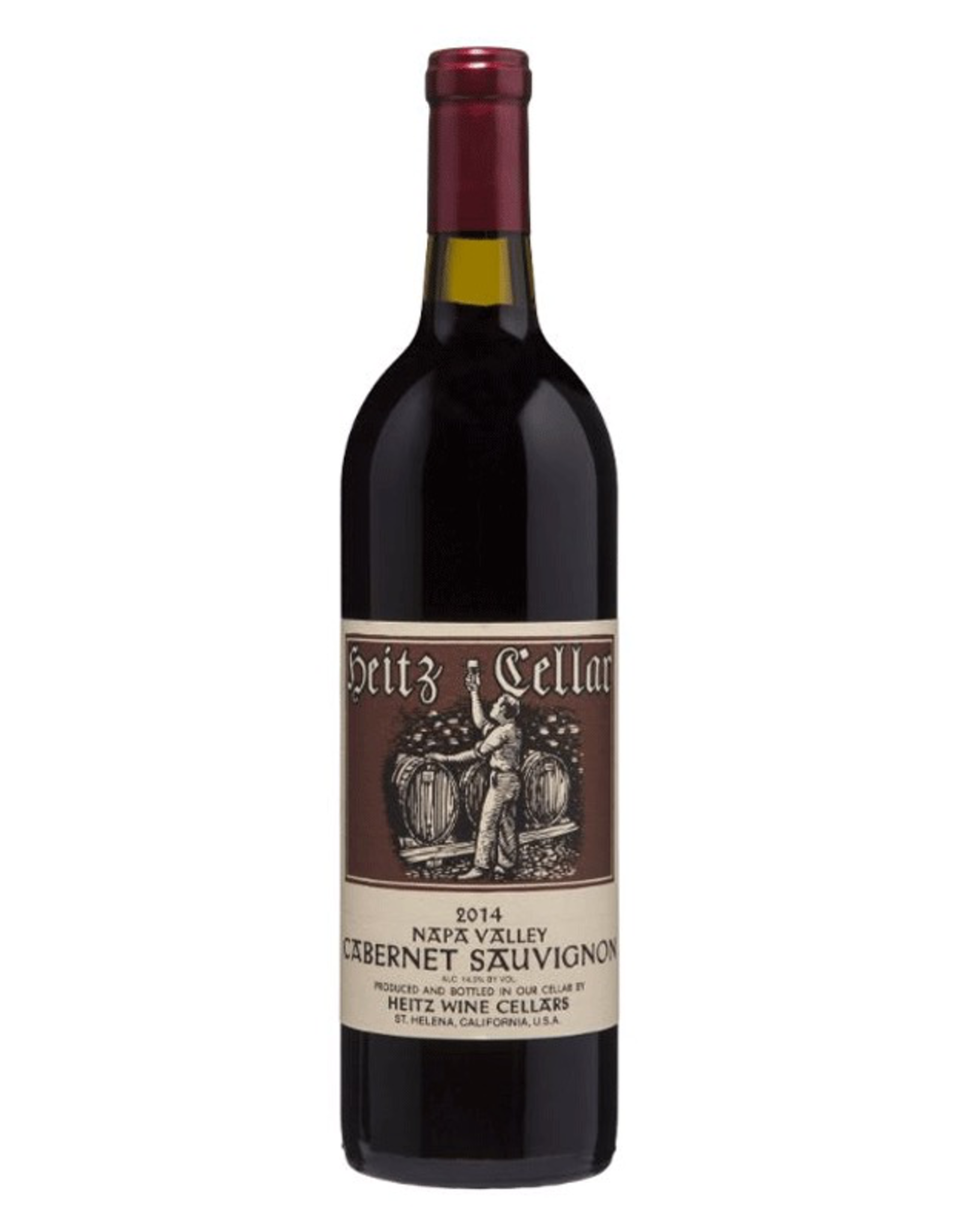 Red Wine 2015, Heitz Cellars, Cabernet Sauvignon, Multi AVA, Napa Valley, California, 14.5% Alc, Ctna