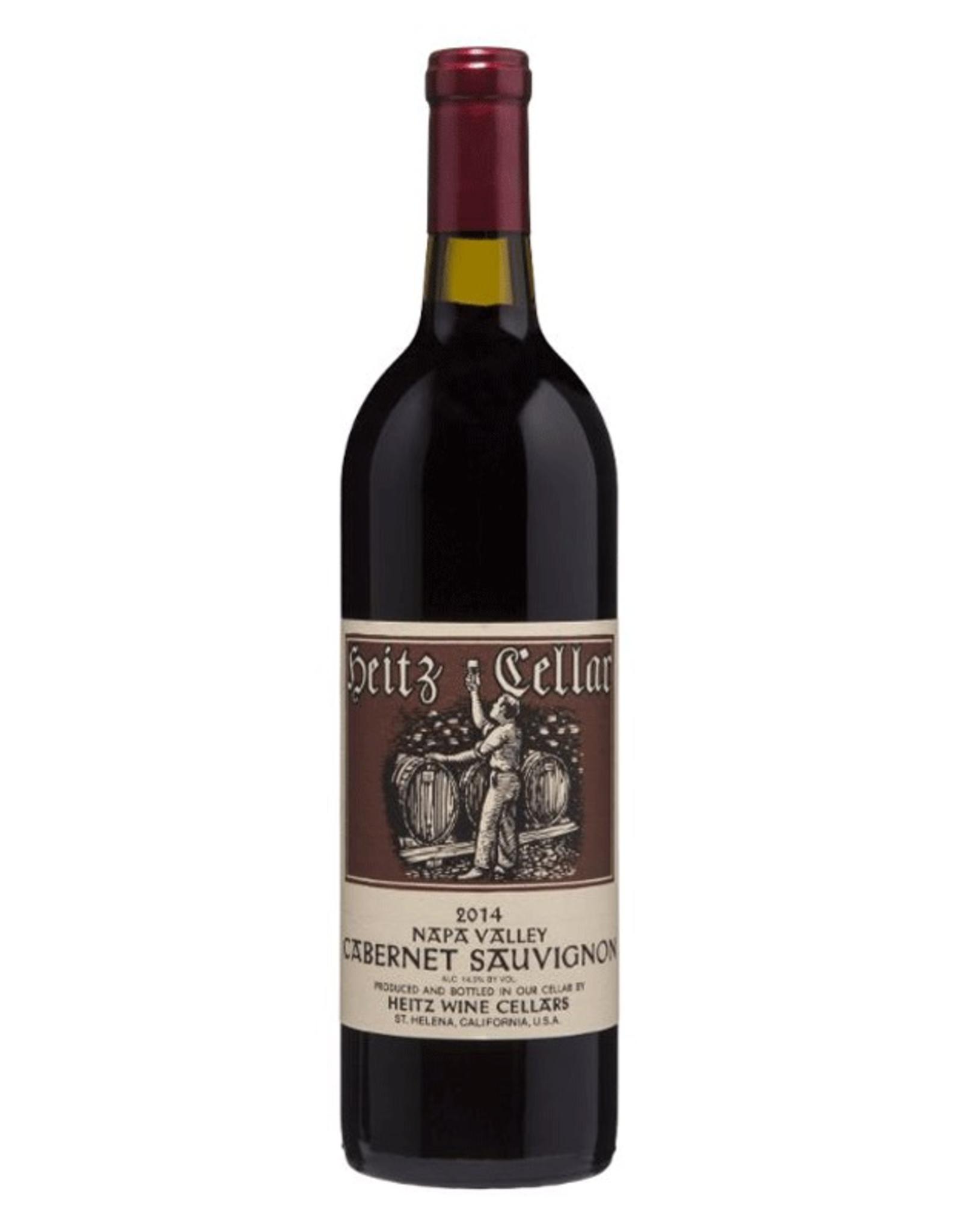 Red Wine 2015, Heitz Cellars, Cabernet Sauvignon, Multi AVA, Napa Valley, California, 14.5% Alc, Ctna