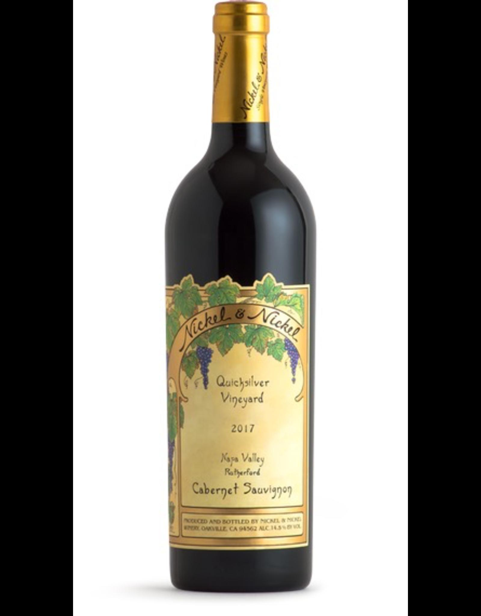 Red Wine 2017, Nickel & Nickel Quicksilver Vineyard, Cabernet Sauvignon, Rutherford, Napa Valley, California, 14.6%, CT88