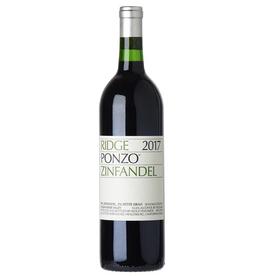 Red Wine 2018, Ridge Ponzo Vineyard, Zinfandel