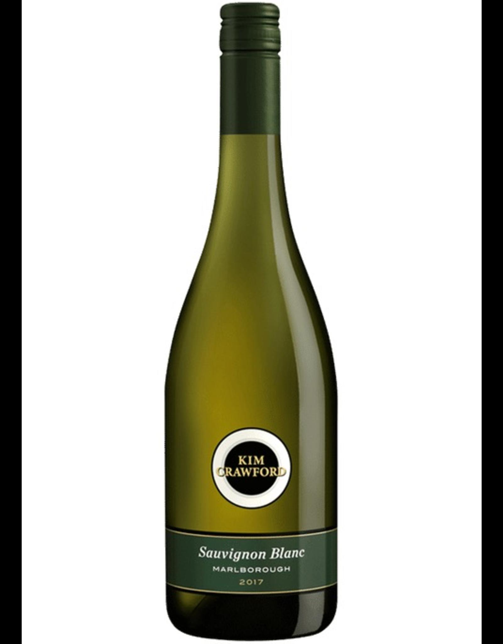 White Wine 2018, Kim Crawford, Sauvignon Blanc, Marlborough, South Island, New Zealand, 13% Alc, CT 87
