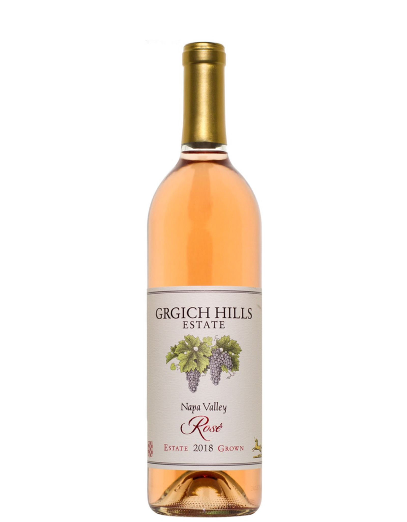 Rose Wine 2018, Grgich Hills Estate, Rose, Napa Valley, Napa, California, 13.55 Alc, CTnr